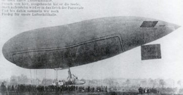 Zeppelin Parseval in Bordesholm | © Archiv Heimatsammlung Bordesholm